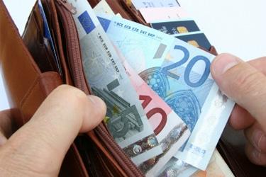 eurá v peňaženke