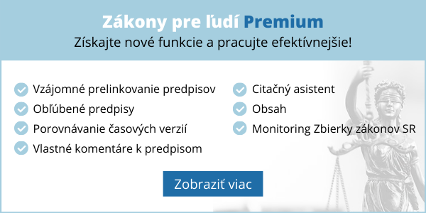Zakony pre ludi Premium